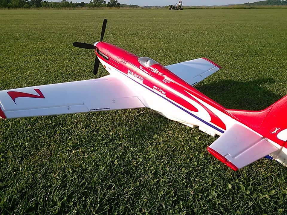 Some pics of Bob's Strega p51 racing plane! Fast as the real thing! We got it all dialed in today!