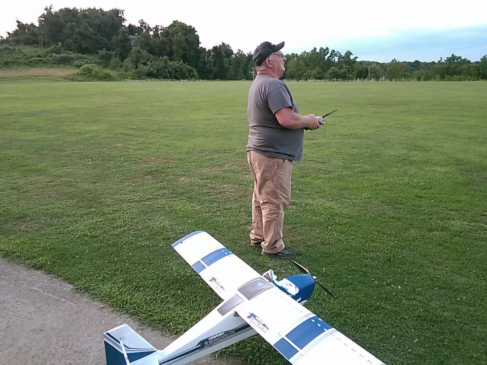 Good day of flying at the field!