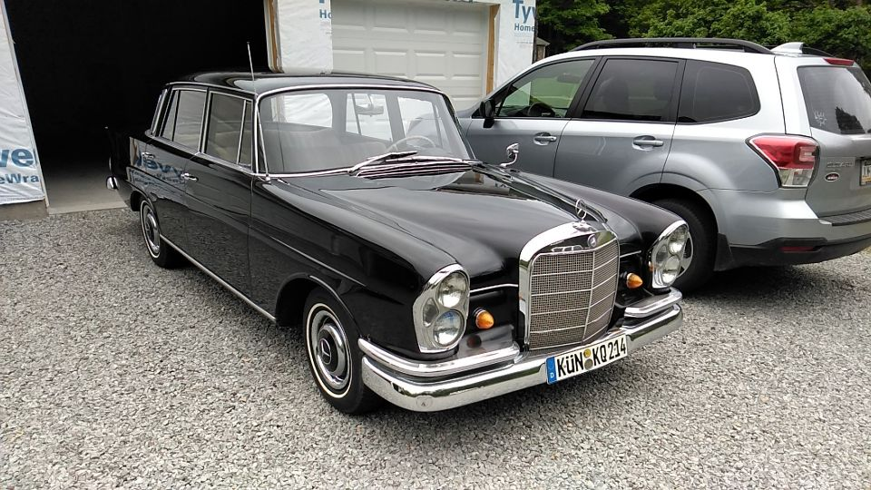 My latest restoration. A 1964 Mercedes 220 sl. All original paint. Came from California. Also I sent to Germany to buy one of those funny 10 letter license plates. Man is that sucker comfortable!